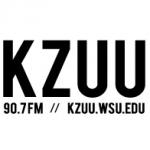 Logo da emissora KZUU 90.7 FM