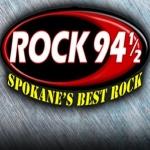 Logo da emissora Radio KHTQ 94.5 FM