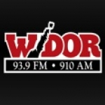 Logo da emissora WDOR 93.9 FM