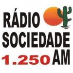 Logo da emissora Rádio Sociedade 1250 AM