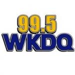 Logo da emissora Radio WKDQ 99.5 FM