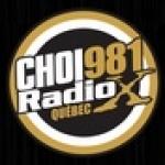 Logo da emissora Radio X CHOI 98.1 FM