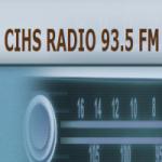 Logo da emissora Radio CIHS 93.5 FM
