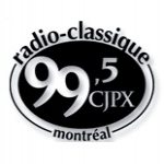 Logo da emissora Radio CJPX Classique 99.5 FM