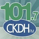Logo da emissora Radio CKDH 101.7 FM