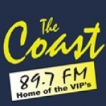 Logo da emissora Radio CKOA The Coast 89.7 FM