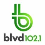Logo da emissora Radio CKOI BLVD 102.1 FM