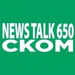 Logo da emissora Radio CKOM 650 AM