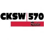 Logo da emissora Radio CKSW 570 AM