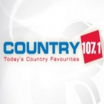 Logo da emissora Radio CKQC Country 107.1 FM