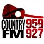Logo da emissora Radio CJWF Country 95.9 FM
