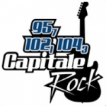 Logo da emissora Radio CHGO Capitale Rock 104.3 FM