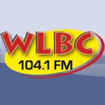 Logo da emissora Radio WLBC 104.1 FM