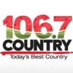 Logo da emissora Radio CIKZ Country 106.7 FM