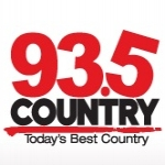 Logo da emissora Radio CKXC Country 93.5 FM