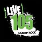 Logo da emissora Radio CKHY 105.1 FM