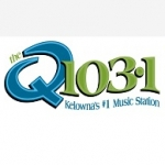 Logo da emissora Radio CKQQ 103.1 FM