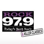 Logo da emissora Radio CKYX Rock 97.9 FM