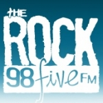 Logo da emissora Radio CJJC The Rock 98.5 FM