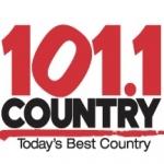 Logo da emissora Radio CKBY Country 101.1 FM