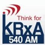 Logo da emissora Radio KRXA 540 AM