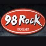 Logo da emissora KRXQ 98.5 FM