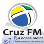 Logo da emissora Rádio Cruz 87.5  FM