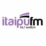 Logo da emissora Rádio Itaipu 99.7 FM
