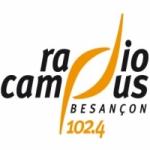 Logo da emissora Radio Campus Besan�on 102.4 FM