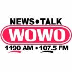Logo da emissora Radio WOWO News Talk 1190 AM 107.5 FM