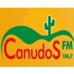 Logo da emissora R�dio Canudos 106.7 FM
