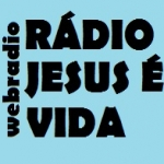 Logo da emissora Rádio Jesus é Vida