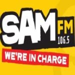 Logo da emissora Radio Sam Bristol 106.5 FM