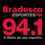 Logo da emissora Rádio Bradesco Esportes 94.1 FM