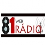 Logo da emissora 81 Web R�dio