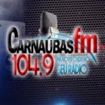 Logo da emissora Rádio Carnaúbas 104.9 FM