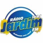 Logo da emissora Rádio Jardim 104.1 FM