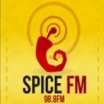 Logo da emissora Radio Spice 98.8 FM