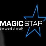 Logo da emissora Magic Star FM