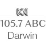 Logo da emissora Radio ABC Darwin 105.7 FM