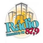 Logo da emissora Rádio Comunitária 87.9 FM