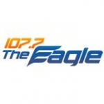 Logo da emissora WSFR 107.7 FM The Eagle