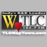 Logo da emissora WTLC 105.7 FM