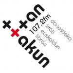 Logo da emissora Radio Ttan Ttakun Irratia 106.8 FM