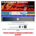 Logo da emissora R�dio Expressa Gospel