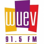 Logo da emissora Radio WUEV 91.5 FM