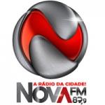 Logo da emissora R�dio Nova 87.9 FM
