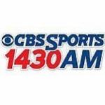 Logo da emissora Radio WXNT CBS Sports 1430 AM