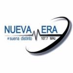 Logo da emissora Radio Nueva Era 107.7 FM