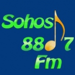 Logo da emissora Radio Sohos 88.7 FM